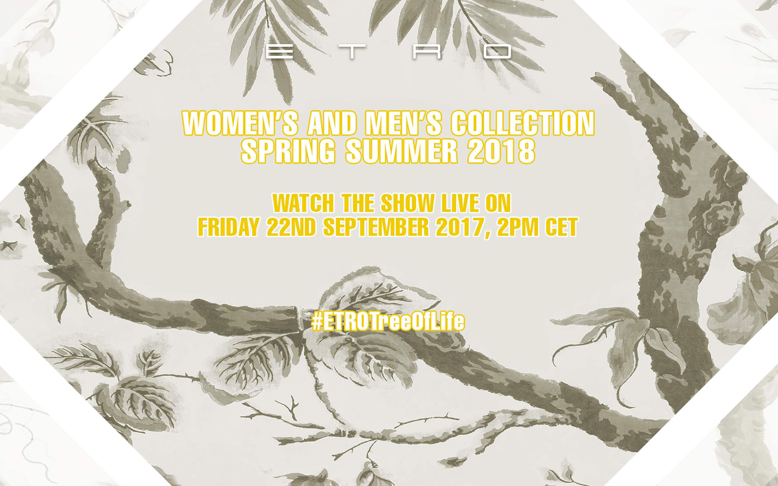 Now On Live: Etro Women's And Men's Collection Spring – Summer 2018
