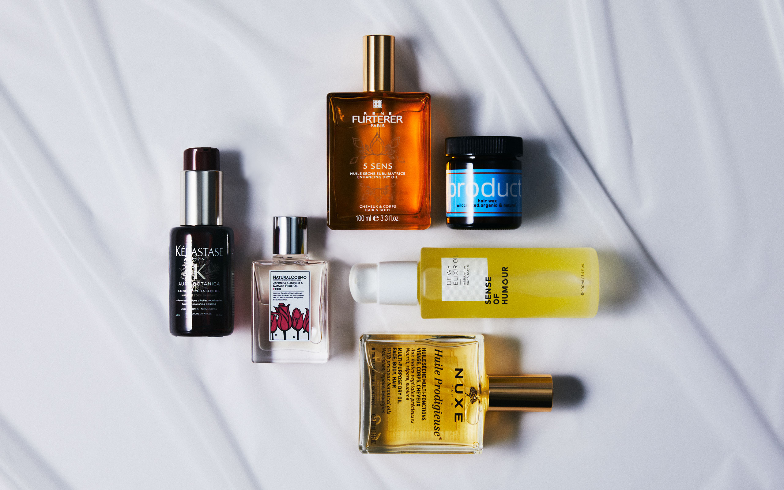 The Pick #5 The Best Hair & Body Oils & Wax