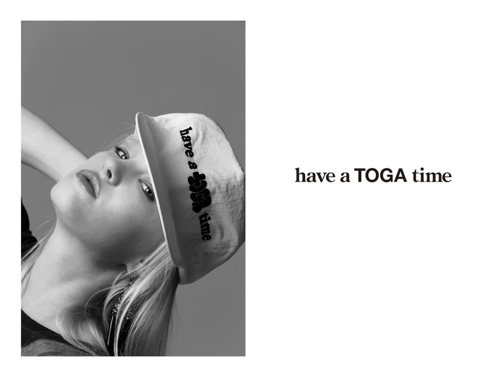 have a TOGA time   Photography: Chikashi Suzuki