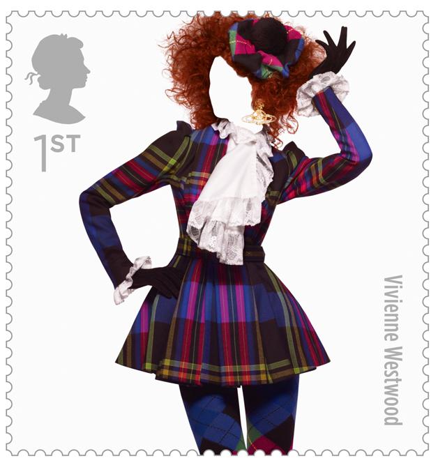 ファッション好きにはたまらない、イギリスファッション史をいろどる10の偉大なブランドが切手に。アレキサンダー マックイーン、ヴィヴィアン ウエストウッド、ポール