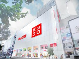 ユニクロとビックカメラが共同で新グローバル繁盛店「ビックロ」を9月27日(木)にオープン