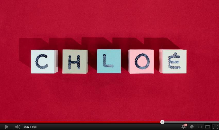 ファッションフィルム vol.86: クロエが60周年を記念し、アルファベットの26文字にまつわるストーリー映像を公開「 E / Embroidery a Film by Mary Clerté 」Chloé Attitudes
