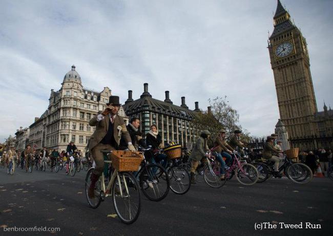 UAクリエイティブディレクター栗野宏文氏がプロデュースするファッションと自転車のコラボイベント「Tweed Run TOKYO 2012」が開催