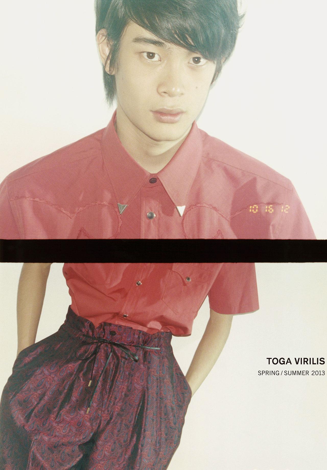 TOGA VIRILIS 2013 S/S Campagin