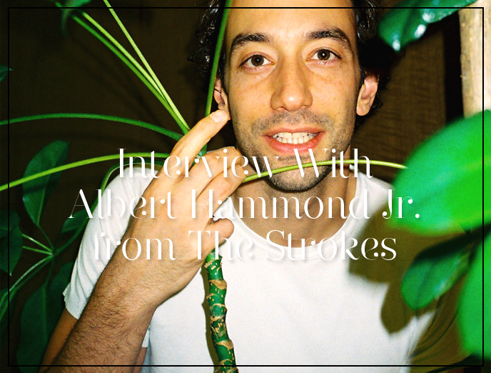 35 Questions to Know about Albert Hammond Jr. from The Strokes