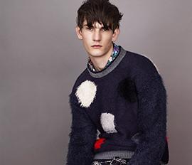 トップマンが英国人デザイナー ジェームス・ロングとコラボレーション - ニットウエアのカプセルコレクションを発売