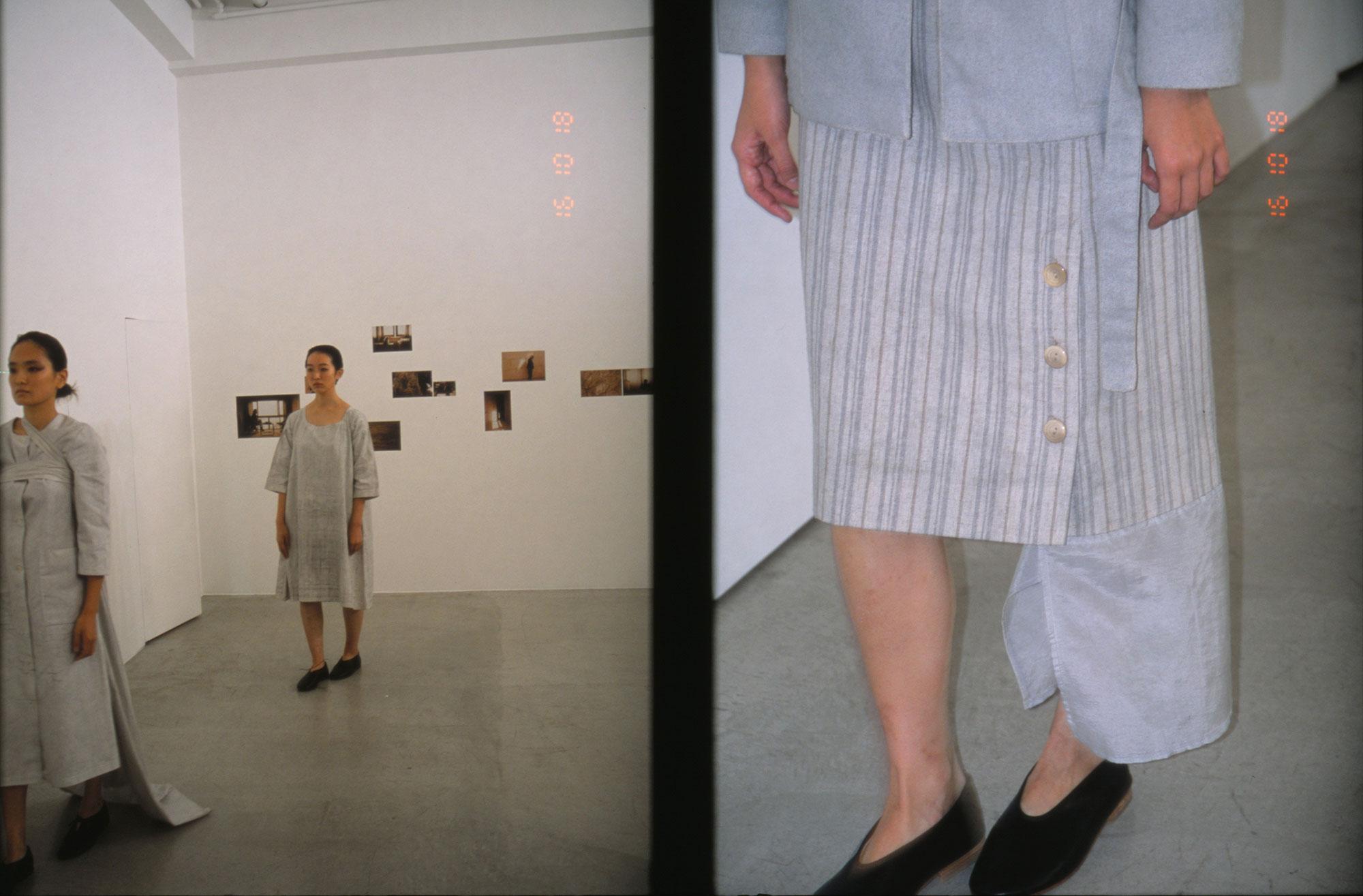 "Elein Fleiss と Cosmic Wonder によるコレクション ""Autre Temps"" のパフォーマンス   Photo by Chikashi Suzuki"
