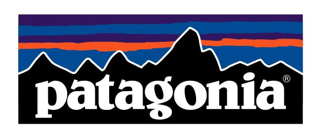 イラスト イラスト シール : Patagonia Logo