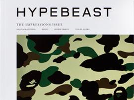 """『HYPEBEAST (ハイプビースト)』マガジン2012年秋冬号が発売 - テーマは """"インプレッション"""""""