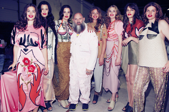 Fashion Academy Antwerp's SHOW 2012 Backstage, Photo: Boy Kortekaas