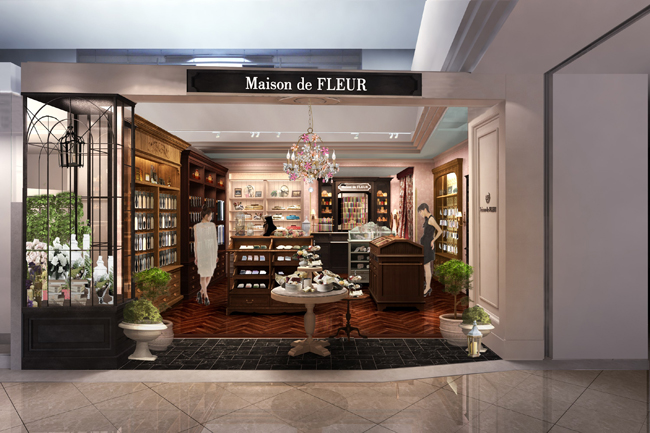 a new gift shop maison de fleur launches with new opening. Black Bedroom Furniture Sets. Home Design Ideas