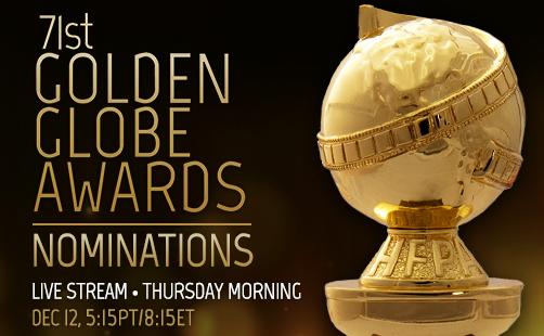 2014年度ゴールデン・グローブ賞のノミネーション発表