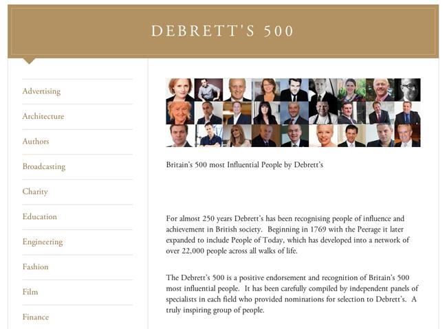 英国でもっとも影響力のある500人が発表!ファッション界からはナタリー・マスネ、ケイティ・グランド、フィービー・ファイロなどが選出