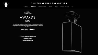 フレグランス界のアカデミー賞「Fragrance Foundation Awards 2014」のノミネートが発表