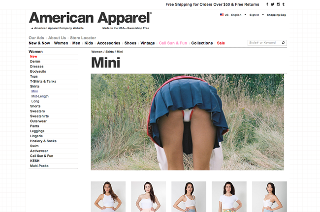 Source: American Apparel