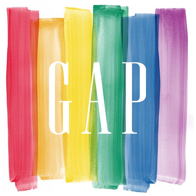 カジュアルブランド Gap が LGBT (セクシャルマイノリティ) を支援する「東京レインボーウィーク2014」をサポート