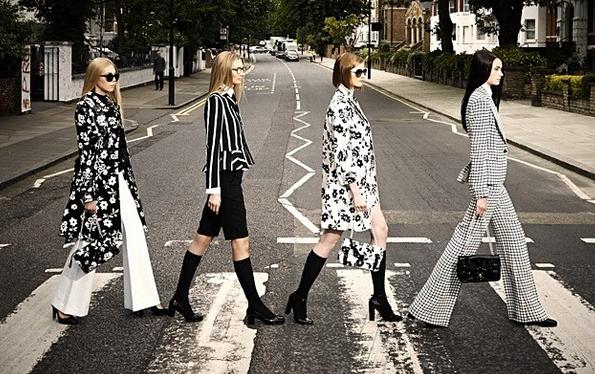 Ralph Lauren (ラルフ ローレン) が Abbey Road (アビイ・ロード) でファッションショーを開催