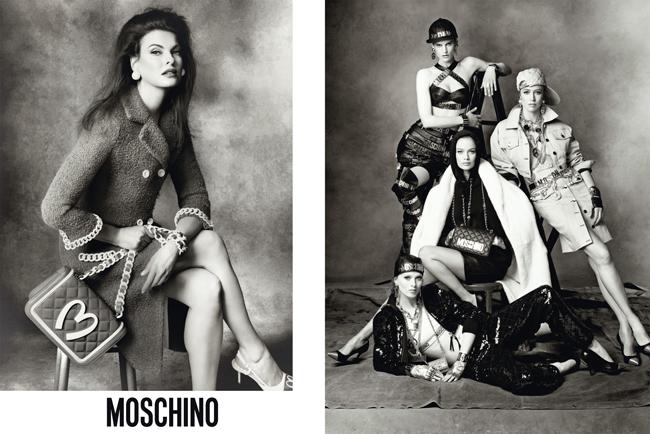 Jeremy Scott (ジェレミー・スコット) による Moschino (モスキーノ) 初のキャンペーンビジュアル、豪華キャストによって実現!