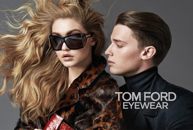 TOM FORD (トム フォード) 2014-15年秋冬キャンペーン広告でアーノルド・シュワルツェネッガーの息子が起用。撮影はジョニー・デュフォート