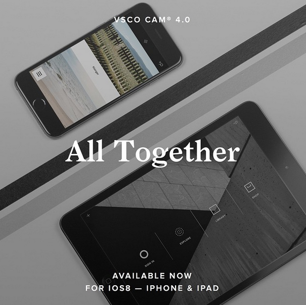 最注目カメラアプリ『VSCO Cam』がiPadアプリと新出版プラットフォームを公開