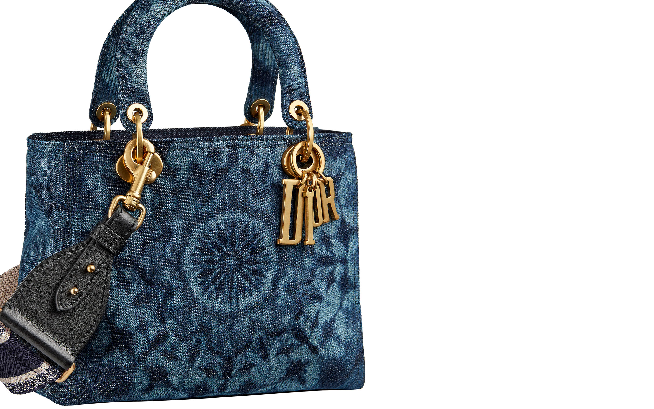 "Dior Introduces New Kaleidoscope-Motifed ""LADY DIOR"""