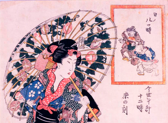 Kawaiiのルーツを浮世絵の世界に探る「江戸ッ娘 —Kawaiiの系譜」展が、太田記念美術館で3月開催