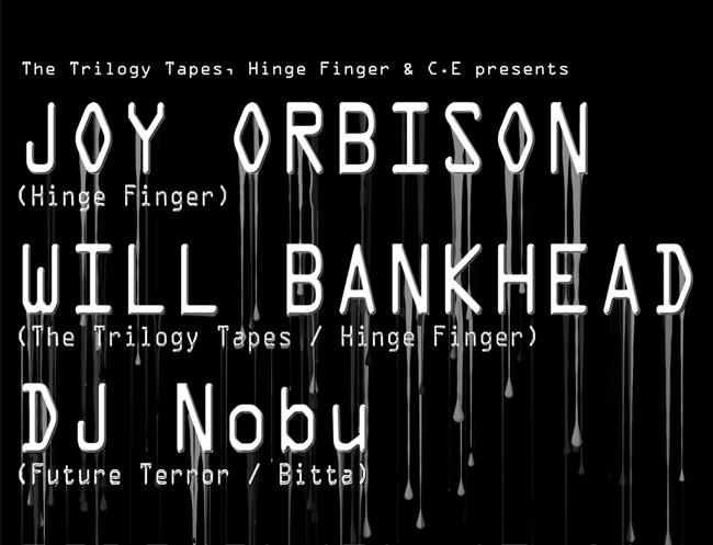 C.E主催のパーティに、UKの人気音楽プロデューサー Joy Orbison (ジョイ・オービソン) が初来日 東京と大阪の2都市で開催