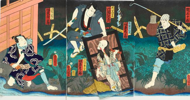 """盗賊から悪女、ストーカーまで江戸の """"悪い人"""" が原宿に集合 浮世絵展「江戸の悪」が6月開催"""