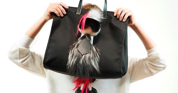Karl Lagerfeld (カール・ラガーフェルド) がプレイフルなファーチャームに、Fendi (フェンディ) からカプセルコレクション
