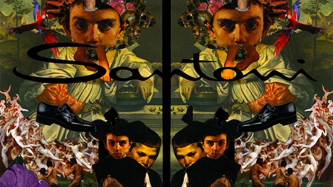 Santoni (サントーニ) が2016年春夏プレゼンテーションにてコラージュムービーを発表