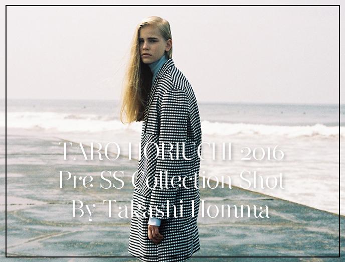 TARO HORIUCHI 2015-16 Collections Shot By Takashi Homma