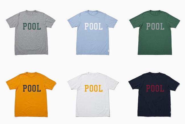 the POOL aoyama が定番Tシャツのカラーオーダーイベント「MY OWN POOL TEE」を期間限定で開催