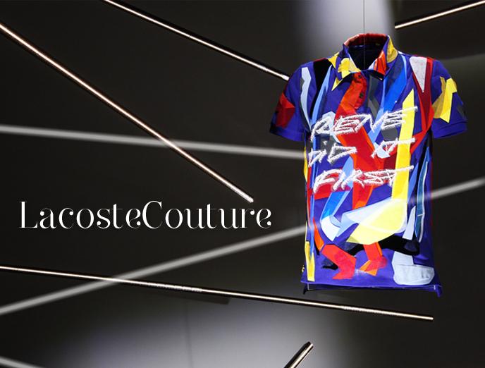 The Reality Show Magazine Presents Lacoste × Maison Lesage Couture Collaboration