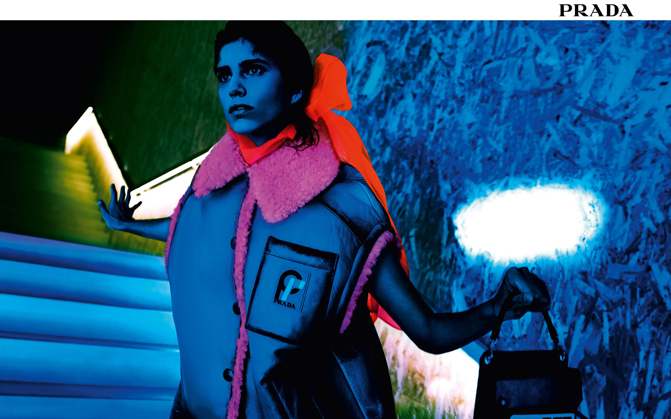 "Prada Unveils New Campaign "" Ultravision"" Shot By Willy Vanderperre"