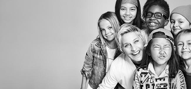 Gap と Ellen DeGeneres(エレン・デジェネレス) が送るすべての女の子のための GapKids × ED (ギャップ キッズ × エド)