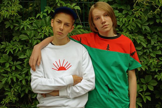 Gosha Rubchinskiy (ゴーシャ・ラブチンスキー) × Timur Novikov (ティムール・ノヴィコフ) コラボコレクションが登場