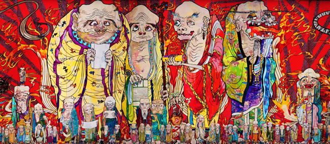 国内では14年ぶりとなる村上隆の大規模個展、全作品日本初公開!