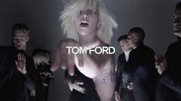 TOM FORD (トム フォード) が2016年春夏コレクションをミュージックビデオで披露、主演は Lady Gaga (レディ・ガガ)