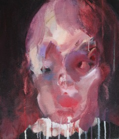 portrait1 サイズ:53 x 45.5cm キャンバスに油彩 2015年