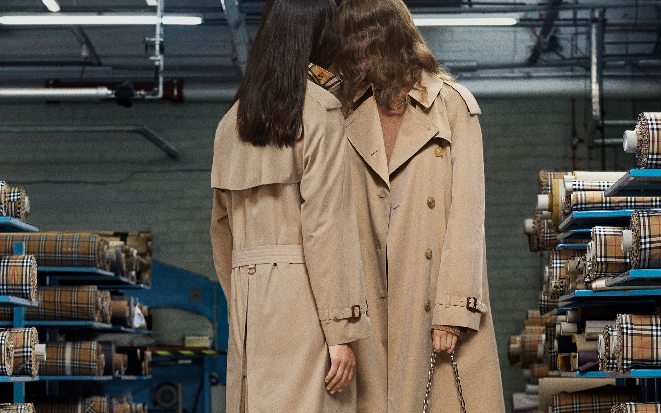 "Burberry Introduces New ""The Heritage Trench Coat"""