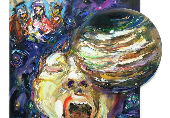 松井えり菜の3年ぶりとなる個展、自画像や古典絵画をモチーフにした新展開作品