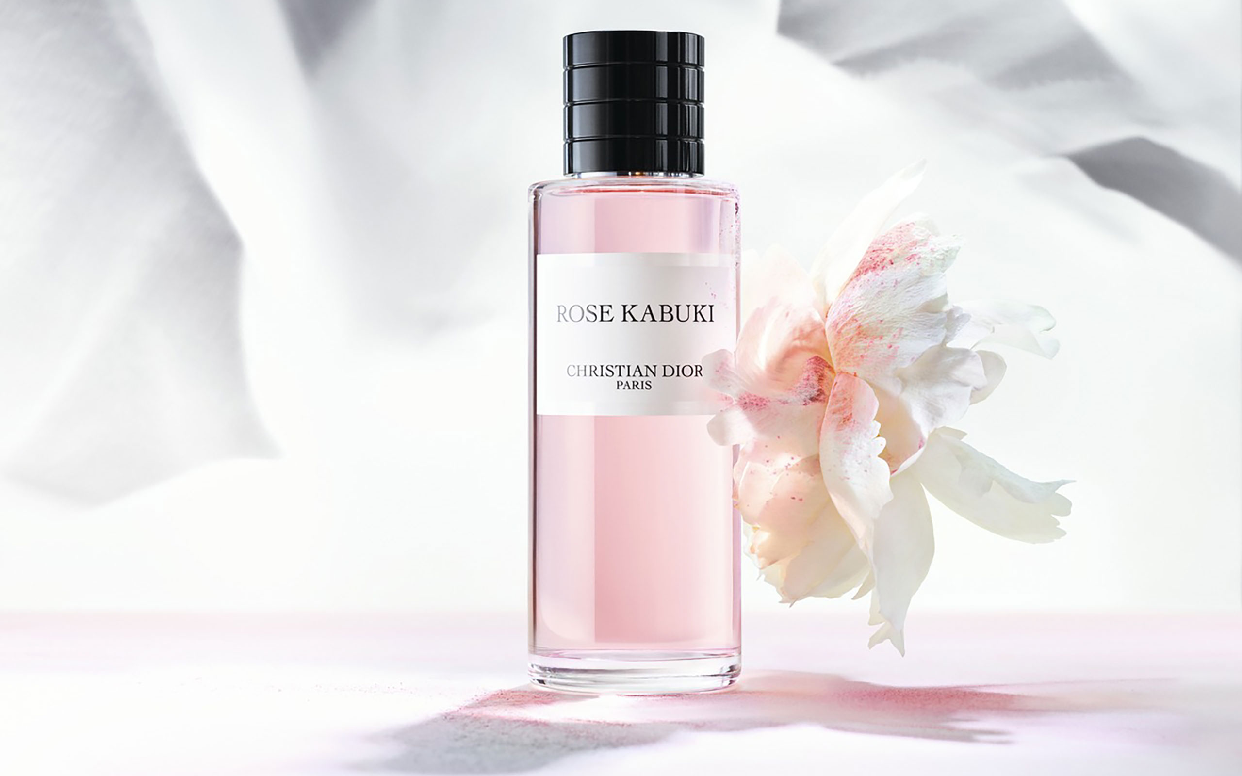 """Dior Introduces New Fragrance """"Rose Kabuki"""" Inspired By Japan"""