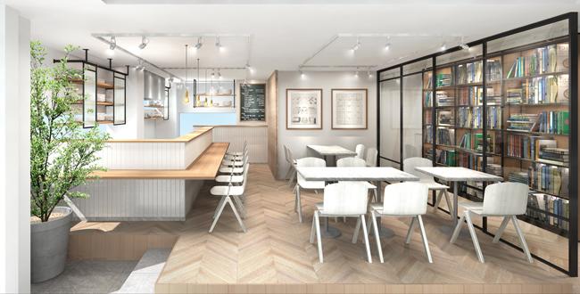 ヘアサロンTWIGGYが大幅リニューアル 3Fにカフェスペースが誕生