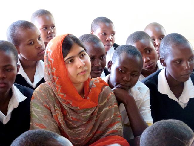 ノーベル平和賞を最年少で受賞した Malala Yousafzai (マララ・ユスフザイ) の素顔に迫る映画『わたしはマララ』が公開