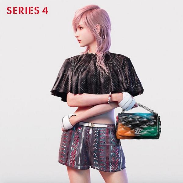野村哲也とスクウェア・エニックスのコラボによるルイ・ヴィトンの最新キャンペーン「SERIES 4 (シリーズ4)」が公開