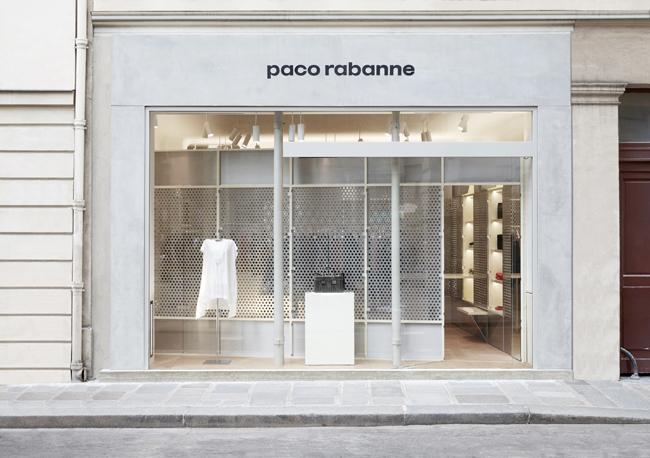 paco rabanne パリ第1号店 ファサード