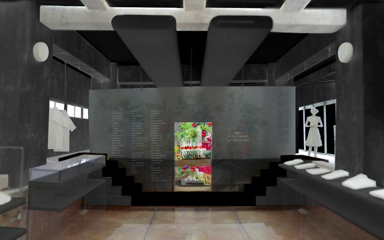 「the POOL aoyama」にフラワーアーティスト・東信のAMKKによる花屋が再びオープン