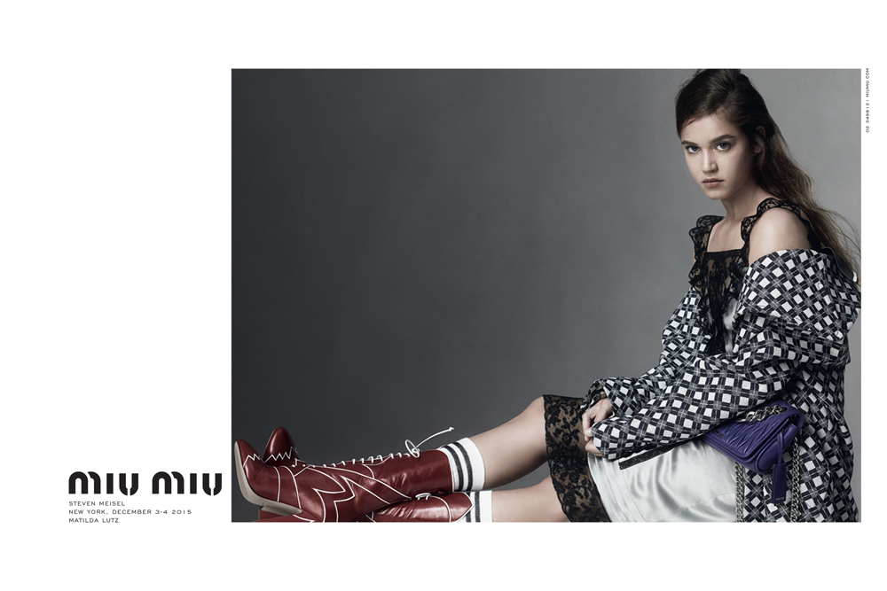 Miu Miu Spring Summer 2016 | Photography: Steven Meisel