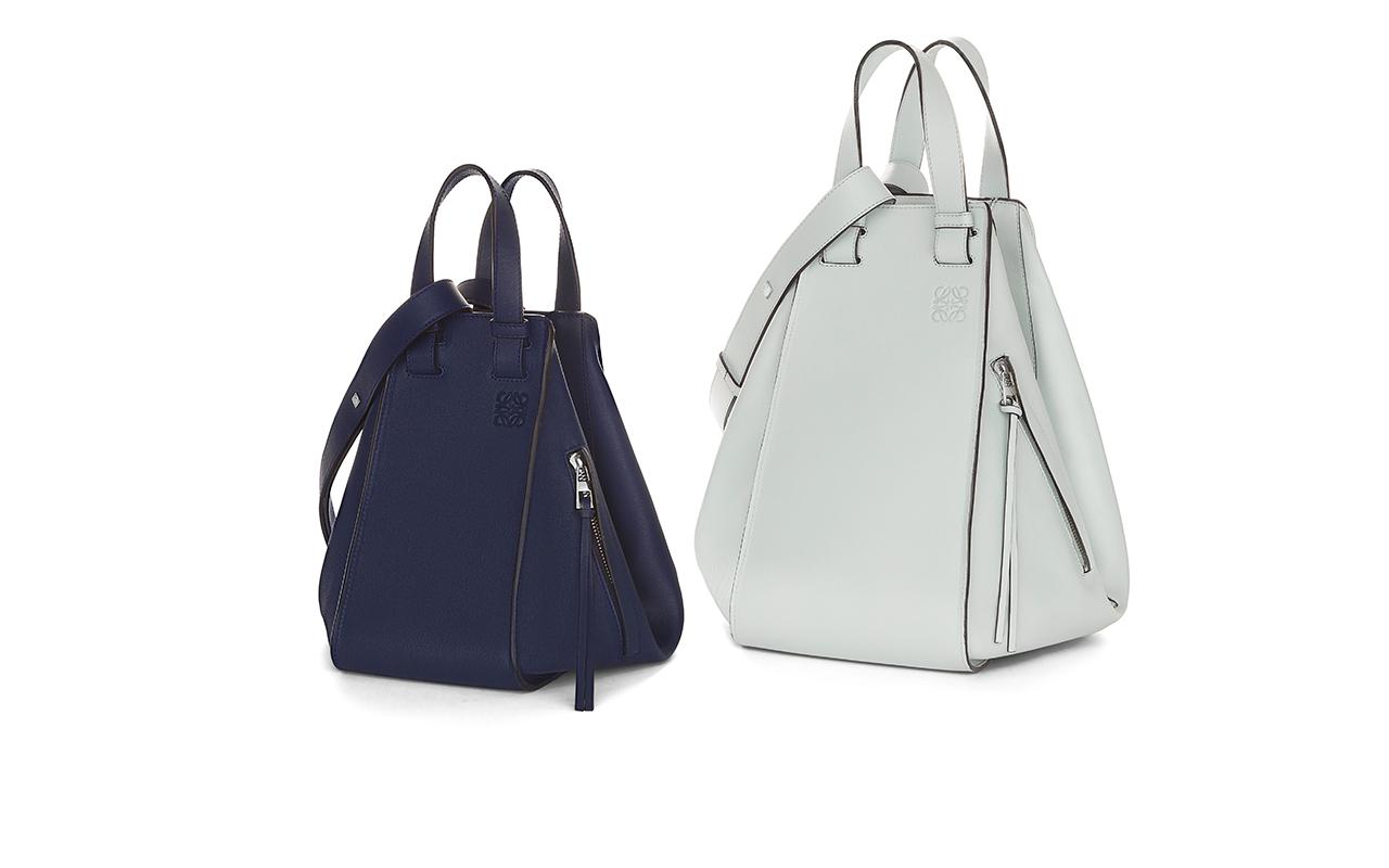 Loewe (ロエベ) が変幻自在の「ハンモック スモール バッグ」を全国で発売