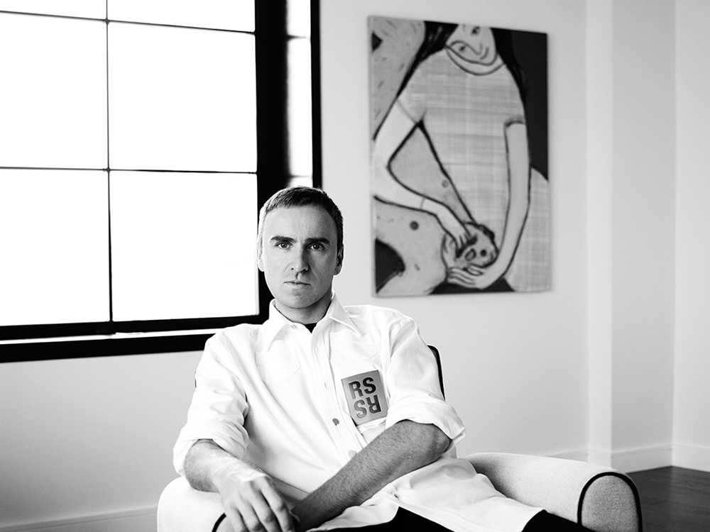 Raf Simons photo by Willy Vanderperre